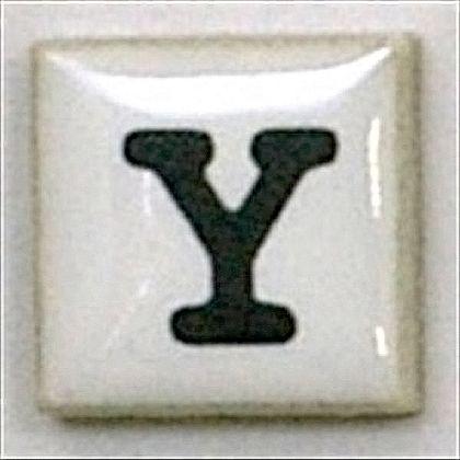 モザイクタイルT-コレットY  約15×15×4mm 15K-Y