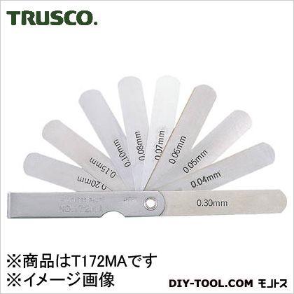スキマゲージ12.7幅長さ75範囲0.04?0.30 幅12.7 長さ75 範囲0.04?0.30 (T172MA)