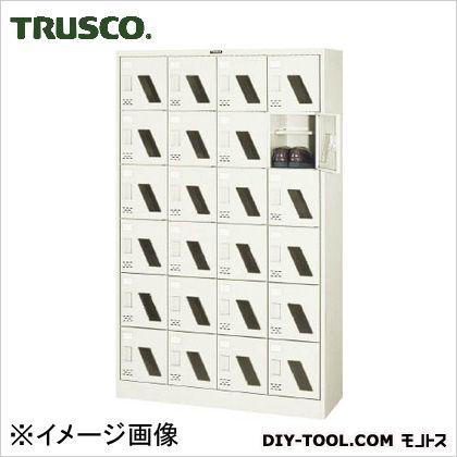 シューズボックス24人用窓付  1050×380×1700 SC24WM