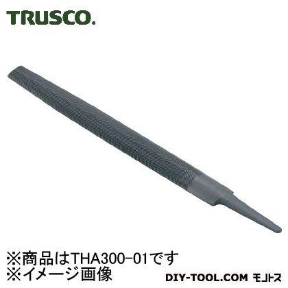 鉄工用ヤスリ 半丸 荒目  寸法300 THA300-01