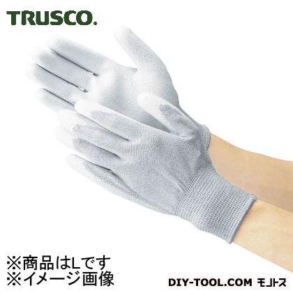 トラスコ 静電気対策用手袋 (手の平ウレタンコート)  L TGL2997L