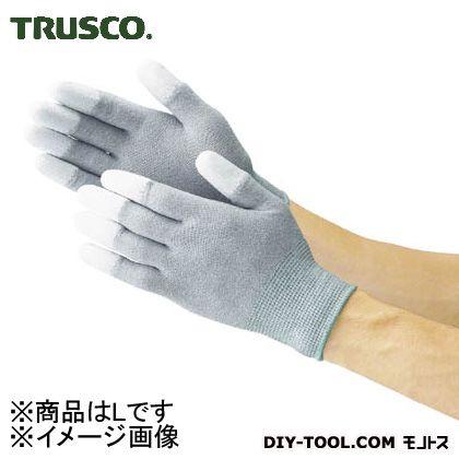 トラスコ 静電気対策用手袋 (指先ウレタンコート)  L TGL2996L