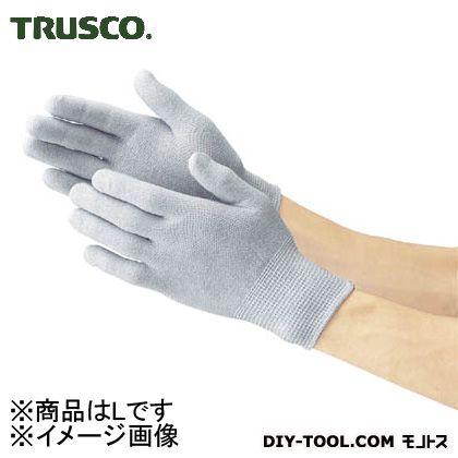 トラスコ 静電気対策用手袋 (ノンコート)  L TGL2995L