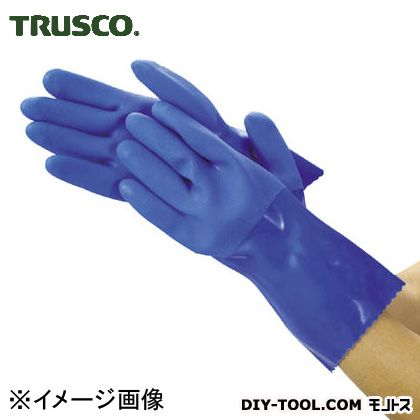 トラスコ 耐油ビニール手袋ロング  M TGL233M