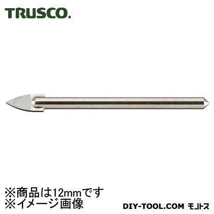 トラスコ ガラスドリル  12mm TGD12