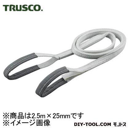 トラスコ ベルトスリング 化学薬品用  0.5t 25mm×2.5m TG2525C