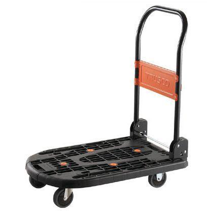 軽量樹脂製運搬車「カルティオ」 黒 780×490 (MPK720BK)