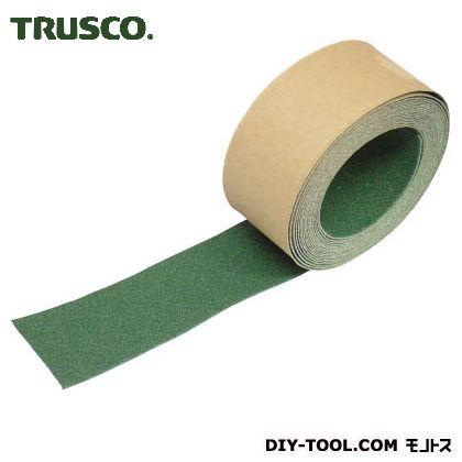 トラスコ ノンスリップテープ屋外用 緑 5m×50W TNS50