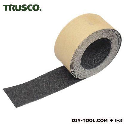 トラスコ ノンスリップテープ屋外用 黒 5m×50W TNS50