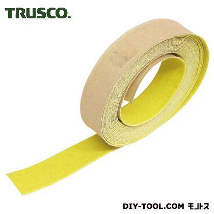 トラスコ ノンスリップテープ屋外用 黄 25mm×5m TNS25