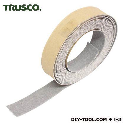 トラスコ ノンスリップテープ屋外用 グレー 25mm×5m TNS25