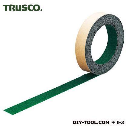 トラスコ ノンスリップテープ屋外用 緑 25mm×5m TNS25