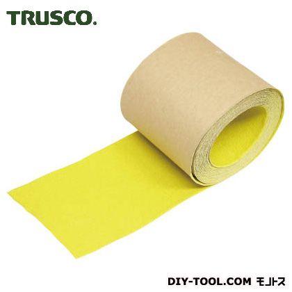 トラスコ ノンスリップテープ屋外用 黄 5m×100W TNS100