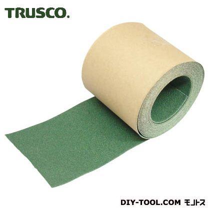 トラスコ ノンスリップテープ屋外用 緑 5m×100W TNS100