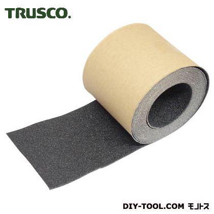 トラスコ ノンスリップテープ屋外用 黒 100mm×5m TNS100