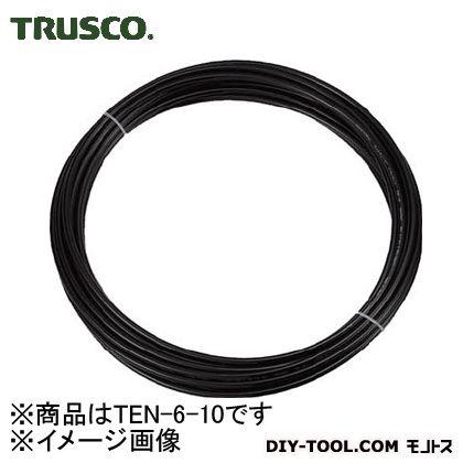 ポリウレタンチューブ 黒 6mmX10M巻 (TEN610)