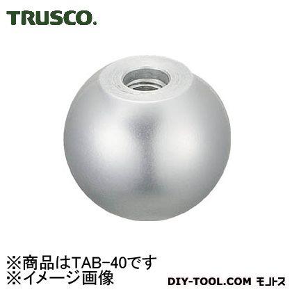 アルミ製握り玉芯金なしΦ40XM10mm   TAB-40