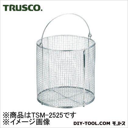 ステンレス洗浄カゴ(丸型)   TSM2525