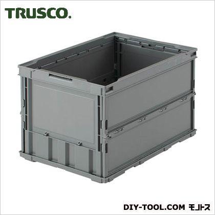 薄型オリコン(本体のみ) グレー 50L TRO50B