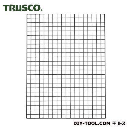 棚用ディスプレイネット取付金具付 黒 900×1200 TN9012