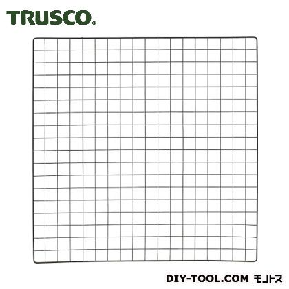 棚用ディスプレイネット取付金具付 黒 900×900 TN9009