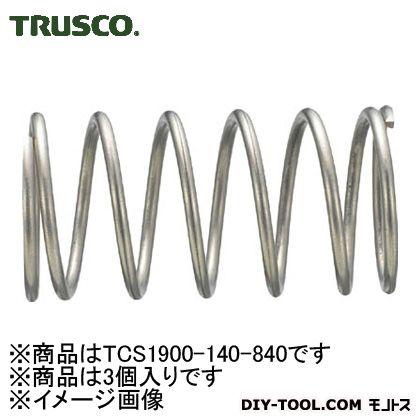 圧縮コイルばね  φD19.0×φd1.40×L84.03 TCS1900140840