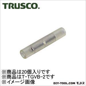 絶縁被覆付圧着スリーブより線 2B型  1.04?2.63mm TTGVB2 20 個