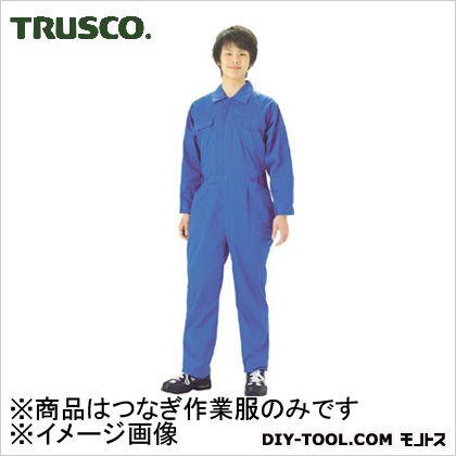 ツナギ服青綿65%ポリエスステル35% LL (TTBLL)