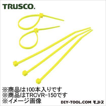 カラーケーブルタイ 黄 (TRCVR150) 100本