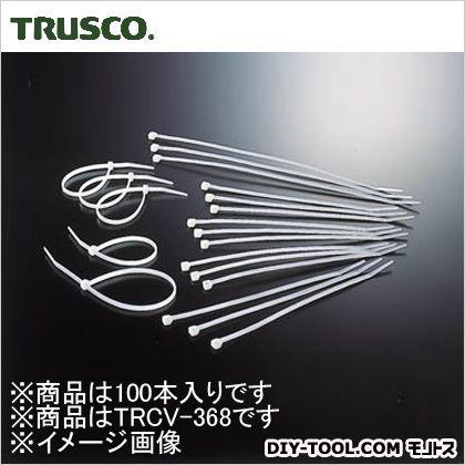 ケーブルタイ標準型 幅4.8mm×368mm最大結束φ102 (TRCV368) 100本
