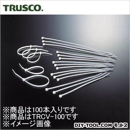 ケーブルタイ標準型 幅2.5mm×100mm最大結束φ25 (TRCV100) 100本