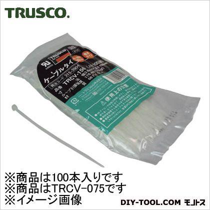 ケーブルタイ標準型  幅2.4mm×75mm最大結束φ18 TRCV075 1袋(100本)