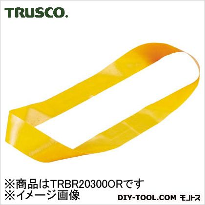結束バンドリング オレンジ 幅20mm×折長300mm (TRBR20300OR) 1袋(10本)