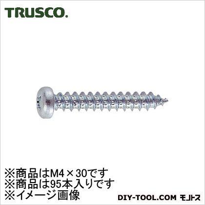 ユニクロームナベ頭タッピングねじ M4×30 (B070430)
