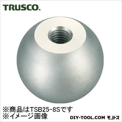 ステンレス製握り玉 φ25×8mm (TSB258S)