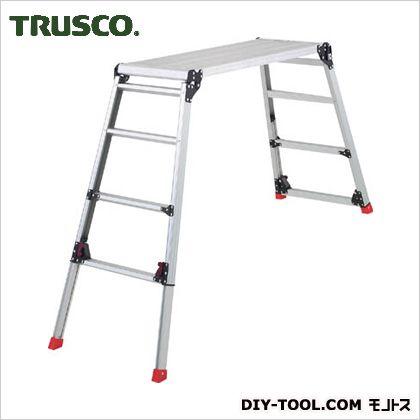 足場台アルミ製脚部伸縮タイプ高さ0.87~1.18m   TDWG-910