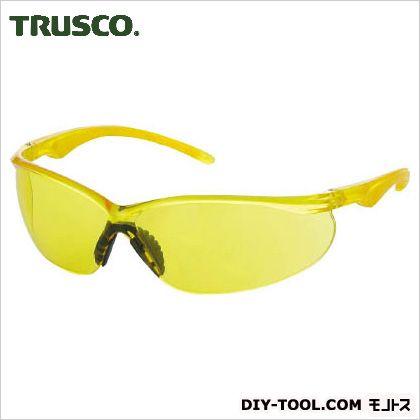 二眼型セーフティグラス(ソフトテンプルタイプ) 黄  TSG147Y