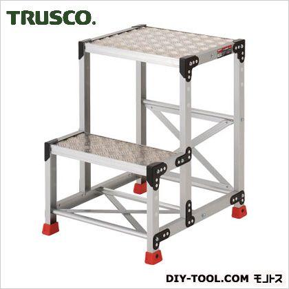 アルミ合金製作業台 縞鋼板  500×400×700 TSFC-257