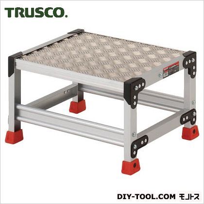アルミ合金製作業台 縞鋼板  500×400×300 TSFC-153