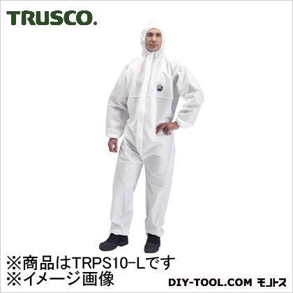 帯電防止使い捨て保護服Lサイズ   TRPS10-L