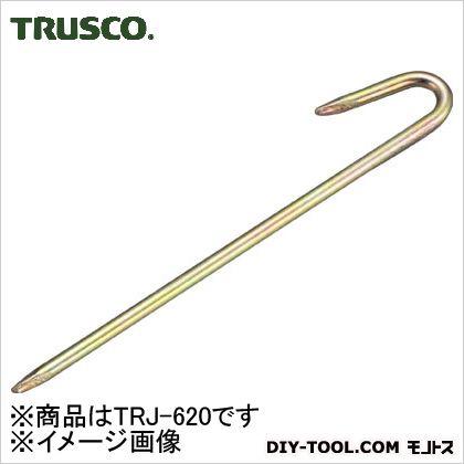 ロープ止めJ型6×200mm   TRJ-620
