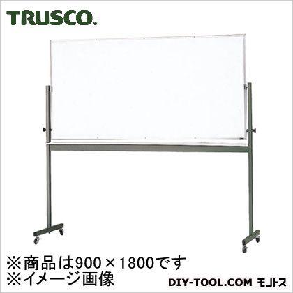 回転ボード片面暗線 白×白暗線 900×1800 (RG304A)
