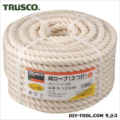 綿ロープコイル巻き  φ12×30m R1230M