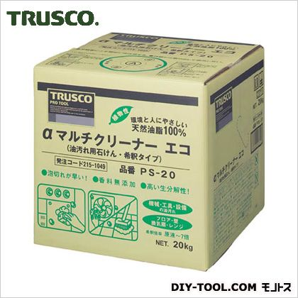 トラスコ αマルチクリーナーエコ  20kg PS20