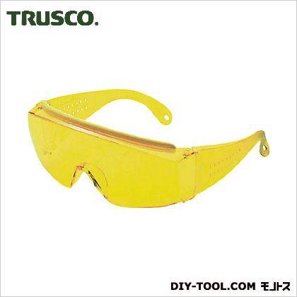 1眼防塵用高級セーフティグラス 黄   GS180N
