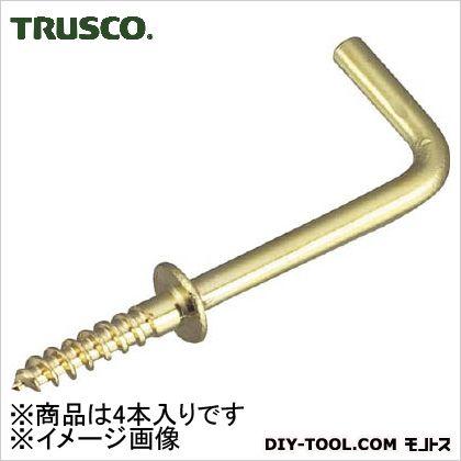 トラスコ 真鍮洋折釘  50mm TYKB50 4 本