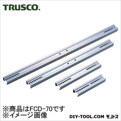 トラスコ 伸縮式コンテナ台車連結バー700用  L594 FCD70