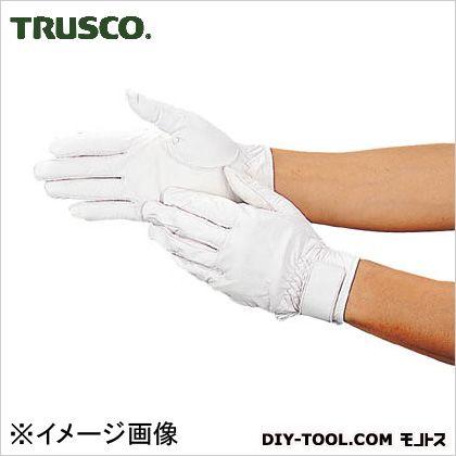 ウェットガード手袋耐水加工革製 白 (DPm810)