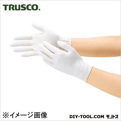 トラスコ 使い捨て天然ゴム極薄手袋 M (DPm5498) 使い捨て手袋 手袋