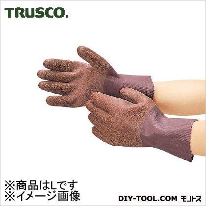 天然ゴム手袋 シームレス L (DPm2369)